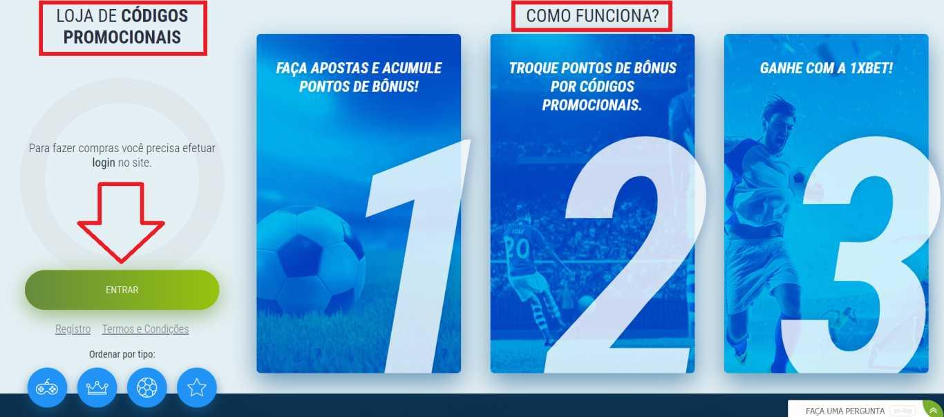 Que vantagens oferece codigo promocional por jogar 1xBet Brasil?