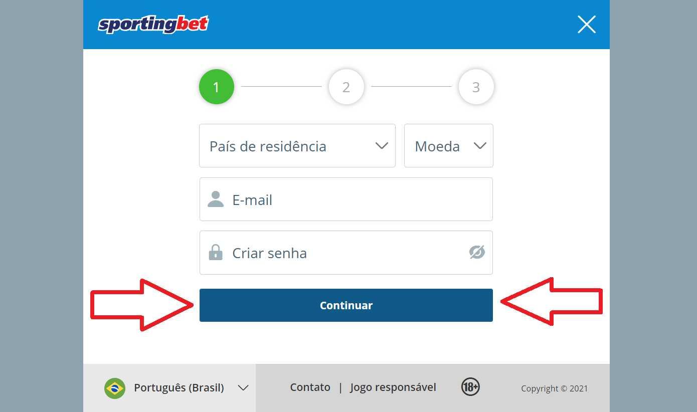 Início benefícios de Sportingbet app