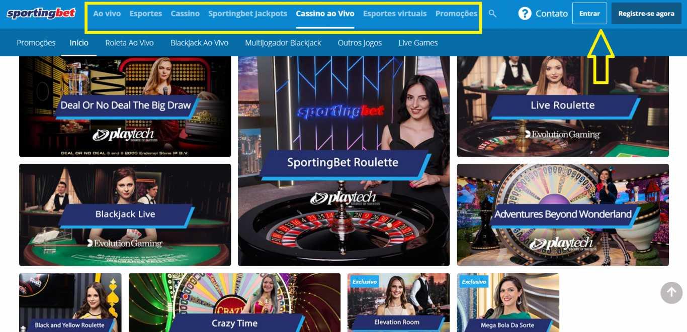 Características do site do escritório de apostas Sportingbet em Brasil